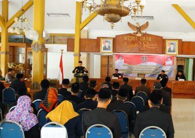 Pelantikan dan Pengambilan Sumpah Jabatan Pejabat di Lingkungan Pemerintah Kabupaten Ngawi